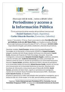 Periodismo y acceso a la Información Pública