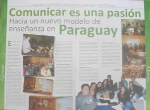 Publicación La Quincena.