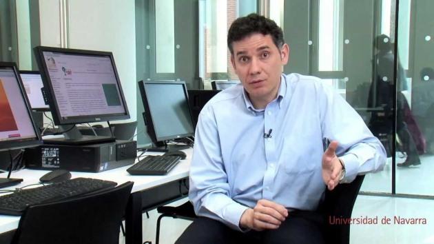 Ramón Salaverría. Universidad de Navarra