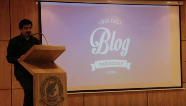 Richard E. Ferreira Candia. Día del Blog Paraguay