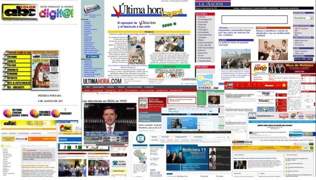 Sitios periodísticos de Paraguay