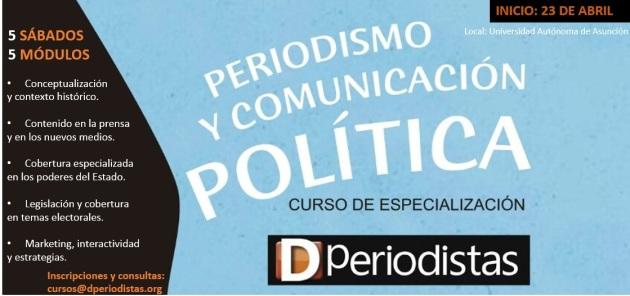 Periodismo y Comunicación Política