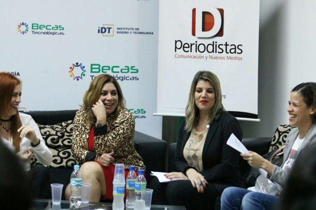 Debate.Mujeres en el Periodismo Deportivo.Paraguay.